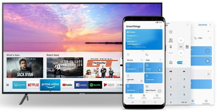 Samsung TV 65NU7105 SmartThings