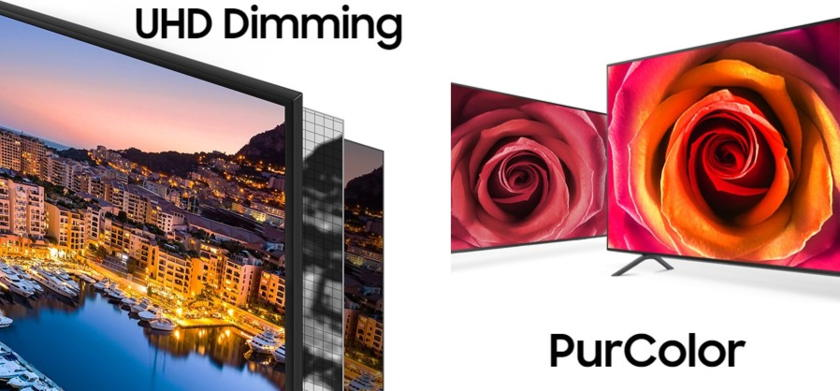 Samsung TV 65NU7105 UHD Dimming + PurColor