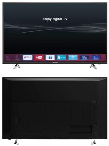 Strong TV SRT 49UA6203 frontal + trasera