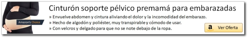 AMAZON_Cinturón soporte pélvico premamá para embarazadas